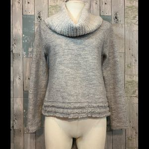 Sleeping on Snow Cowl Neck Sweater